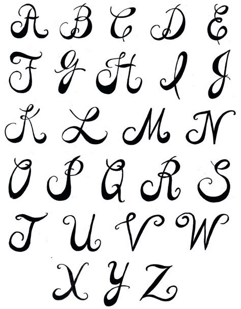 printable creative fonts creative hand lettering alphabets pamela s parasols