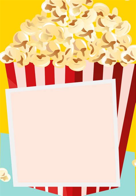 printable popcorn stationary free printable take a break party invitation used this