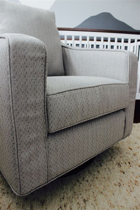 swivel rocker slipcover custom slipcovers by shelley nursery swivel rocker