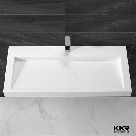 narrow rectangular bathroom sink long rectangular bathroom sink cangas ceramic bathroom