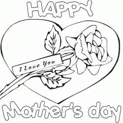 mothers day coloring sheet happy s day coloring pages picture