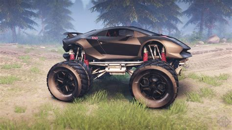 lambo truck lamborghini sesto elemento monster truck for spin tires