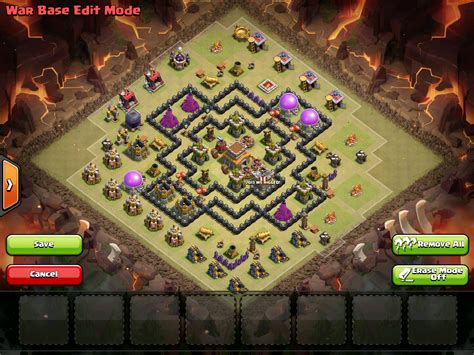 Anti Air the gallery for gt th8 war base anti everything