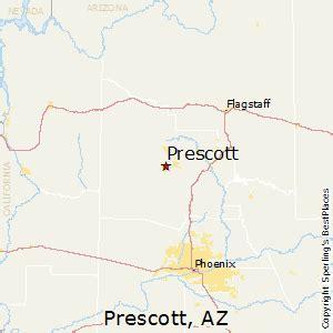 map of arizona prescott best places to live in prescott arizona