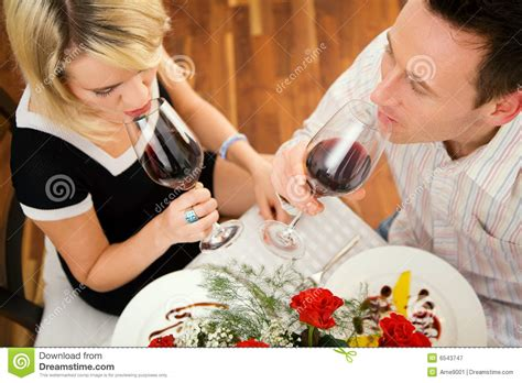 romantic couple drinking wine drinking red wine royalty free stock photography image