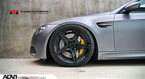 silver bmw black rims matte silver bmw e92 m3 adv5 m v2 sl gloss black wheels