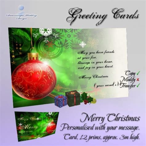 photo personalised greeting card merry christmas boxed
