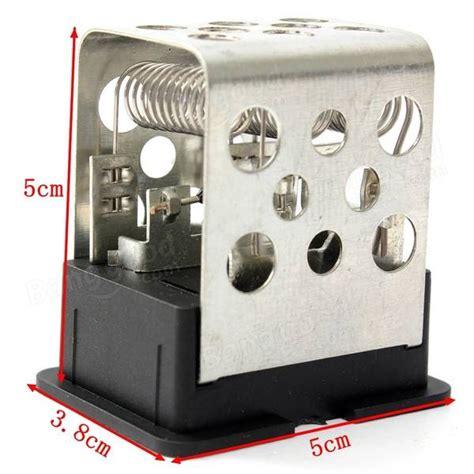 blower motor resistor zafira car heater blower motor fan resistor for vauxhall zafira astra sale banggood