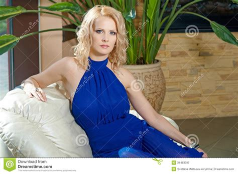 who is the viagra lady in blue dress lady in blue royalty free stock photography image 34483797