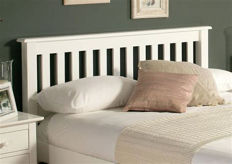 wood and upholstered headboard white wood headboard king marcelalcala