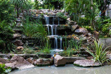 rock waterfalls for gardens rock your garden with these unique ideas for landscaping rocks