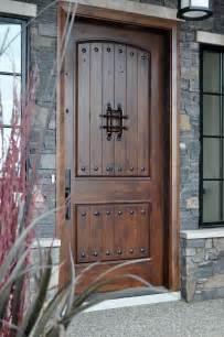 Rustic doors rustic exterior doors installation gallery