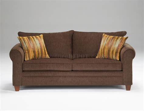 elegant fabric sofas chocolate fabric elegant living room sofa loveseat set
