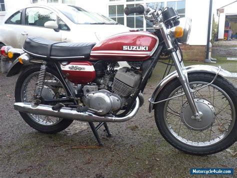Suzuki Spares Uk 1973 Suzuki T250j For Sale In United Kingdom