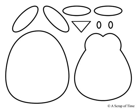 penguin craft template penguin template number each in order and draw a