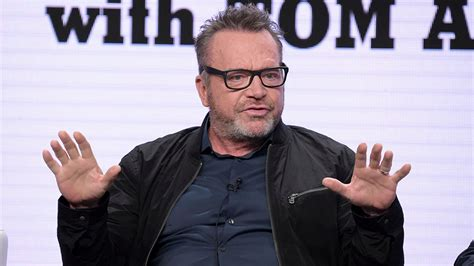 tom arnold images tom arnold and mark burnett in physical altercation at