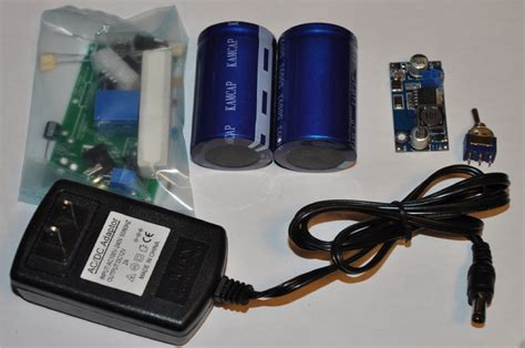 capacitor battery booster kits accessories engineeringshock electronics