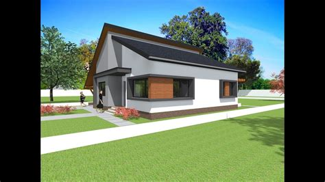 house design modern bungalow modern bungalow design house with 2 bedrooms 117 5