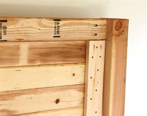 diy wood panel headboard easy and beautiful wood diy headboard a piece of rainbow