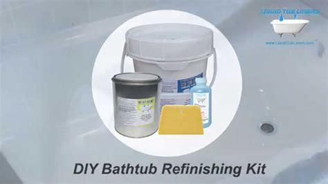 bathtub reglaze kit liquid tub liners bathtub refinishing kit youtube
