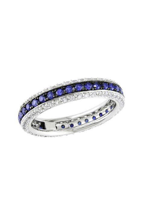 25 best ideas about sapphire eternity ring on