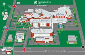 facility map florida hospital ta
