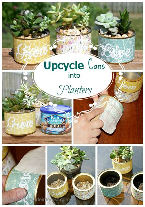 upcycle cans upcycle cans into planters home made interest