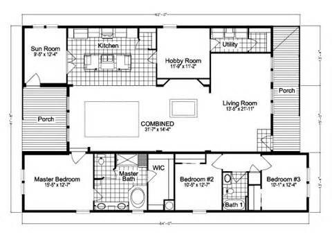 Casita Floor Plan by The Casita Ii Tdx4646m Home Floor Plan Manufactured And