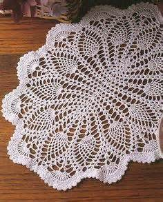 Square Tablecloth On Round Table Crochet Doilies On Pinterest Doily Patterns And Do Pattern
