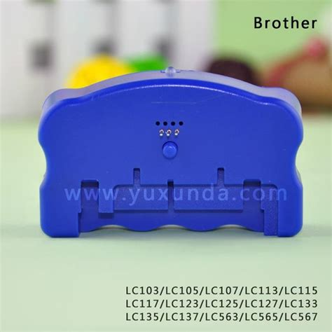 chip resetter für brother druckerpatronen resetter for brother lc103 lc113 lc123 lc133 lc563 china