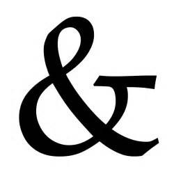 Different House Designs The History Of The Ampersand And Showcase Webdesigner Depot