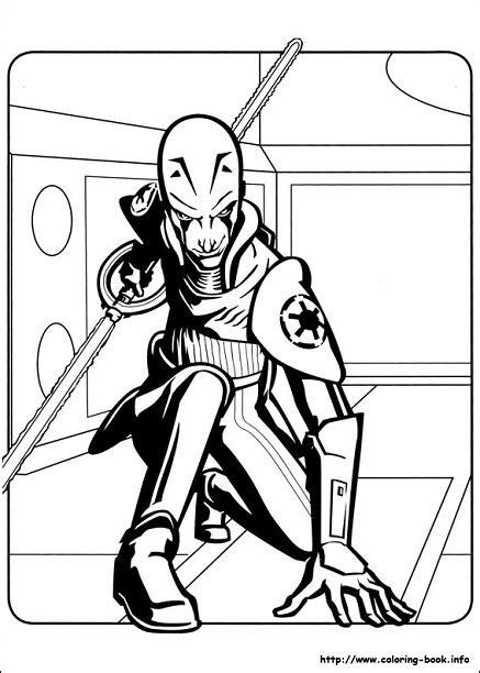 Dibujos de Star Wats Rebels para colorear | Todo Peques