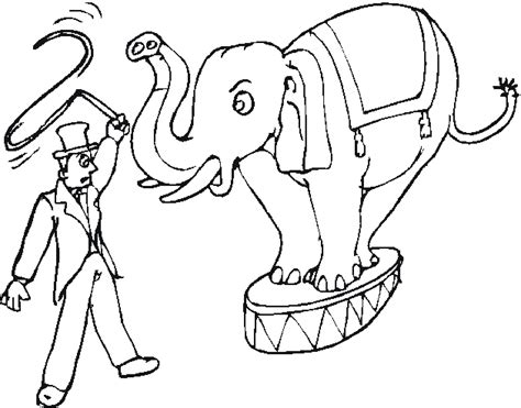 circus elephants coloring pages transmissionpress circus elephant coloring pages