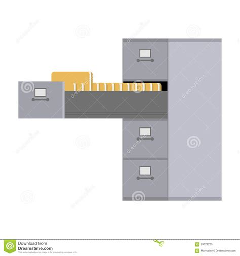 file cabinet card template compartment illustrations vector stock images