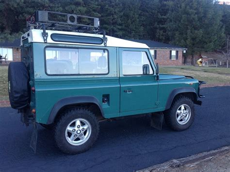 old land rover defender 1988 land rover defender 90 classic land rover defender