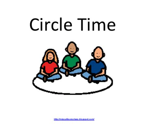 Circle Time Clipart miss allison s class social story saturday 3 circle time freebies