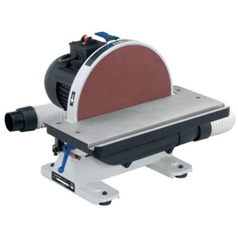 delta bench sander delta 120 volt 1 2 hp 12 in disc sander 31 140 the home