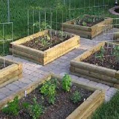 how to make raised garden boxes for vegetables pathmate concrete stepping mold random