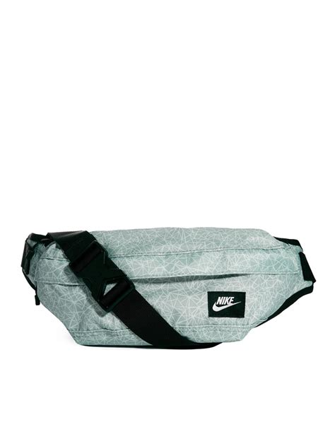 Waist Bag Nike Square Grey nike bum bag in gray for lyst