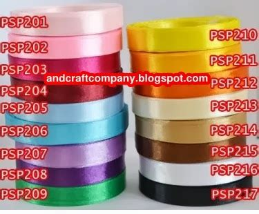 Psp5 Pita Satin Polos 15 Inch Per Rol 2 jual pita satin and s crafts
