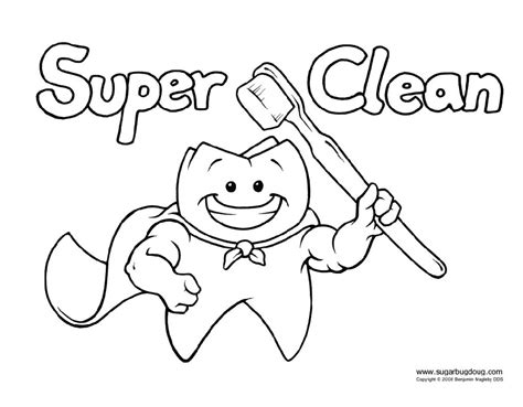 preschool dental coloring pages personal hygiene coloring