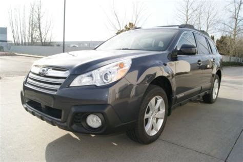 all weather package subaru outback buy used 2013 subaru outback 2 5i premium all weather