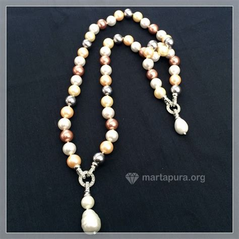 Set Kalung Batu Aksesoris Martapura 7 kalung kerang set permata martapura