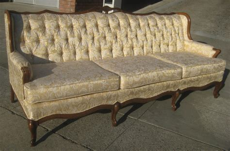 french provincial sofa uhuru furniture collectibles sold french provincial