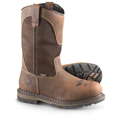 mens working boots s setter 174 waterproof aluminum toe work boots