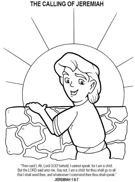 free bible coloring pages jeremiah free coloring pages of prophet samuel