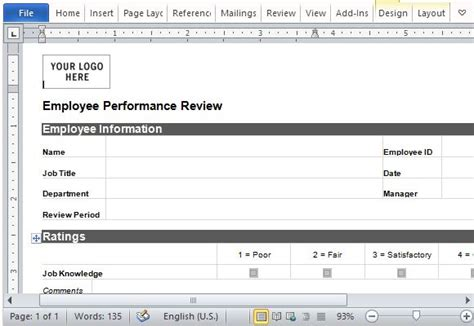 one on one performance review template employee write up template playbestonlinegames