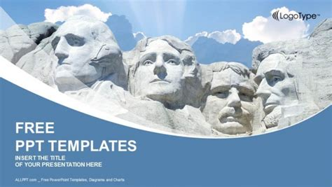 Rushmore National Memorial Powerpoint Templates Mount Rushmore Photoshop Template