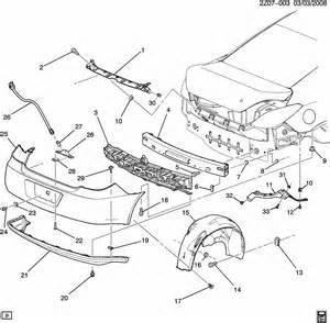 Pontiac G6 Parts Pontiac G6 Bumper Rear