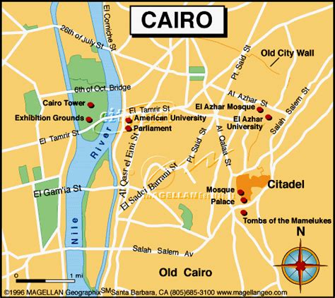 where is cairo on a map willgoto maps